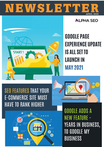 GOOGLE PAGE EXPERIENCE UPDATE IS ALL SET  TO LAUNCH IN MAY 2021